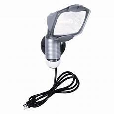 Halogen Light Fixture Not Working All Pro 110 Degree Outdoor Grey Quartz Halogen Motion
