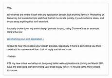 Business Email Template Why Beautiful Email Templates Hurt Your Business Nathan