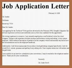 Cover Letter For Any Job Applications Letter Application Job Application Letter