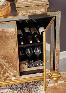 antique mirrored wine door cabinet by pulaski furniture