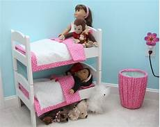 ikea doll beds attached with dowels american doll