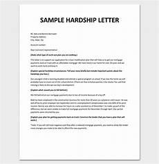 Hardship Letter Loan Modification Hardship Letter Template 10 For Word Pdf Format