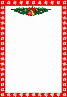 Letter Borders Templates Christmas Letter Borders Free Printable Cyberuse