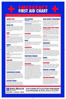 Berkeley Medical Center My Chart Printable Emergency First Aid Chart Emergency First Aid