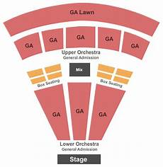 Tabernacle Seating Chart General Admission Sprint Pavilion Seating Chart Amp Maps Charlottesville