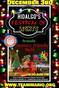 City Of Hidalgo Texas Festival Of Lights Hidalgo Festival Of Lights December 3 Team Mario