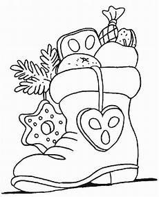 Malvorlagen Weihnachten Stiefel Nikolausstiefel Weihnachtsmalvorlagen Ausmalbilder