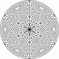 Coloring Geometric Pages Free Printable Geometric Coloring Pages For Adults
