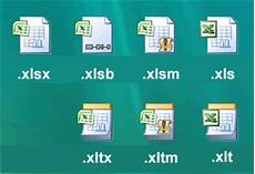 Xltm File Excel 2007 New File Types Macro Security And Other