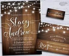Rustic Country Wedding Invitations Rustic Wedding Invitation Country Diy Printable By X3designs
