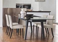 tavolo in cristallo calligaris sedia low di calligaris con gambe in legno
