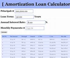 Payment And Amortization Calculator Amortizationloancalculator Calculator For Calculating