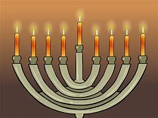 How To Light The Menorah And Hanukkah How To Light A Chanukah Menorah 11 Steps With Pictures
