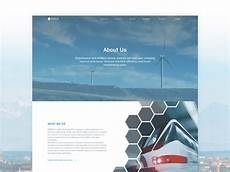 About Us Page Design Pinterest Iiot Corporate Website About Us Page Animation By Bogdan