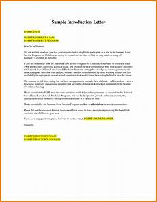 Introduction Letter Samples 6 Samples Of Business Introduction Letters Introduction