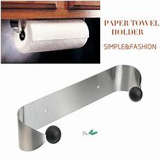 paper towel holder cabinet wall mount stainless