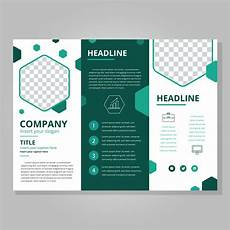 Template For Brochure Free Modern Tri Fold Brochure Template Download Free Vectors