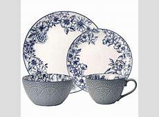 Pfaltzgraff 16 Piece Gabriela Blue Dinnerware Set 5216941
