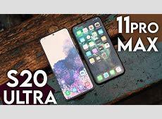 GALAXY S20 ULTRA VS IPHONE 11 PRO MAX, LE FIGHT DE L?ANNÉE