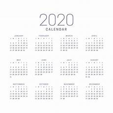 Yearly Calendar 2015 2020 2020 5 Best Images Of 2020 Yearly Calendar Free Printable