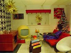 1970s Interior Design Style Typical 1970s Living Room At Christmas Time A Mix Of