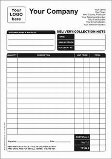 Delivery Book Template Delivery Notes Printwise Online News