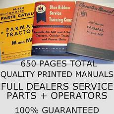 Ih Farmall Magneto Service Manual Blue Ribbon Service