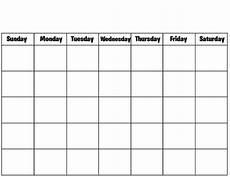 Templates Calendar Blank Calendar Template Fotolip