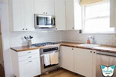 how to install tile backsplash kitchen how to install tile on wavy walls a butterfly house