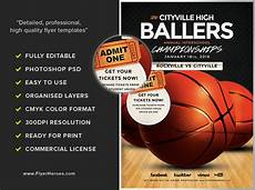 Basketball Flyer Basketball Flyer Template Flyerheroes