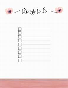 Todo Lis Printable To Do List