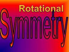 Line Of Symmetry Powerpoint Rotational Symmetry Authorstream