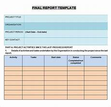 School Progress Report Template Free 15 Sample Progress Report Templates In Pdf Ms Word