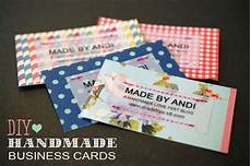 Home Made Buisness Cards Love These Super Cute Diy Handmade Business Cards From