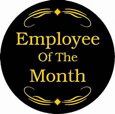 Employee Of The Month Award Employee Of The Month Emblem Work Awards Dinn Trophy