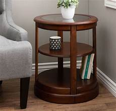 end tables living room with glass top and