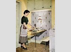 Kitchen Trends Introduced in the 1950s