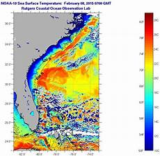 Sst Charts Rutgers Florida Current Sea Surface Temperatures Sunday February