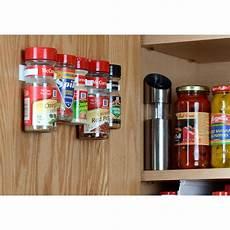 spicestor cabinet door 20 clip spice rack organizer