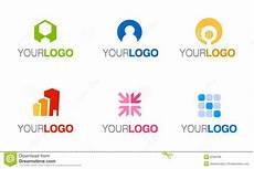 Vector Company Vector Company Logo Set Stock Vector Illustration Of