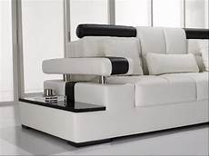Modern Leather Sofa 3d Image by Modern White Leather Sectional Sofa