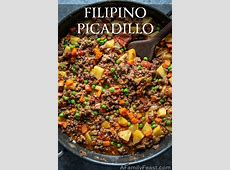 Filipino Picadillo   A Family Feast®