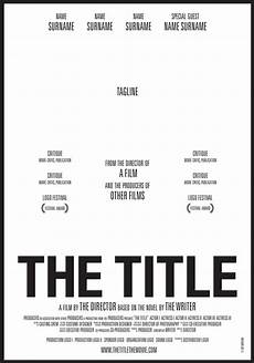 Free Movie Poster Template Thetitle Cartel Webbar Film Poster Design Movie Poster