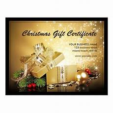 Gift Certificate Ideas For Christmas Holiday And Christmas Gift Certificate Templates Postcard