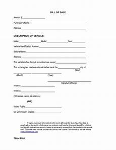 Bill Of Sale For Car Sale Printable Sample Car Bill Of Sale Form Bill Of Sale