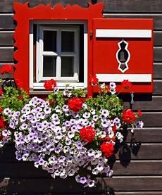 fioriere per davanzale finestra sankt michael im lungau austria persiane rosse