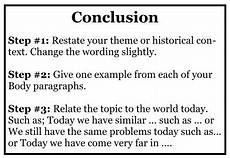 Conclusion Examples How To Write A Conclusion Academichelp Net