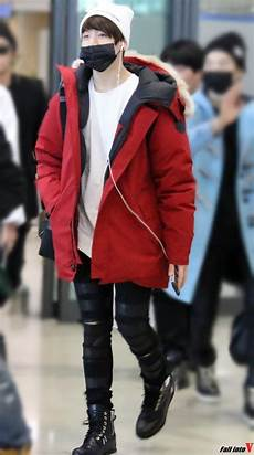 jungkook airport fashion mon style airport