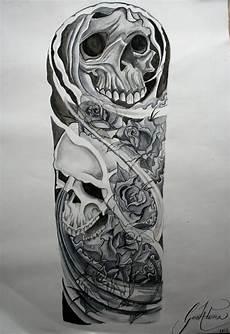 Full Sleeve Designs Skulls Sleeve Images Amp Designs