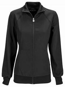 s workwear zip front warm up sleeve